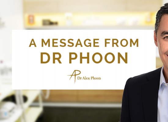 An end of year message from Dr Alex Phoon
